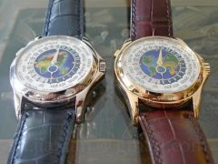 Take A Look At The Replica Patek Philippe World Time 5131G and 5131J Mens Watches