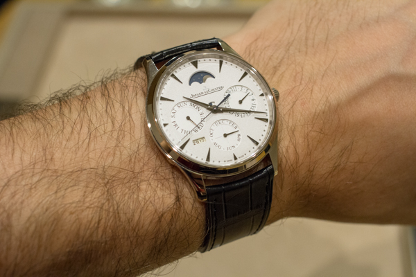 Jaeger-LeCoultre Master Ultra-Thin Perpetual Watch Hands-on Exclusive Hands-On