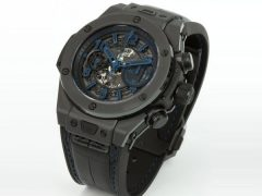 blue pointer replica Hublot Big Bang Unico All Black