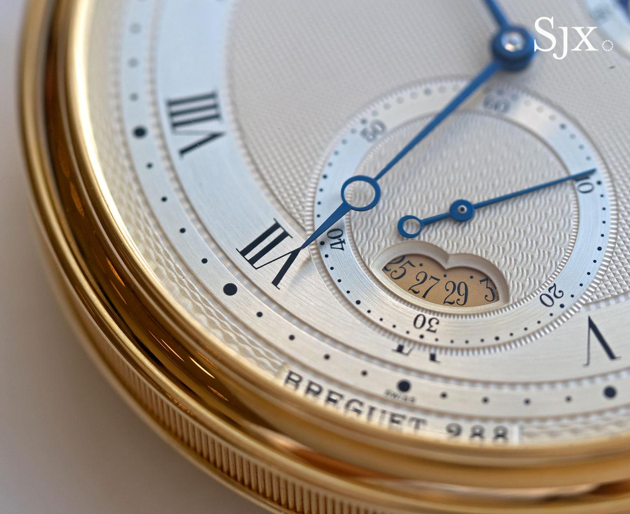 Breguet Souscription set pocket watch 13