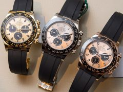 Rolex Cosmograph Daytona Watches In Gold With Oysterflex Rubber Strap & Ceramic Bezel Hands-On Hands-On