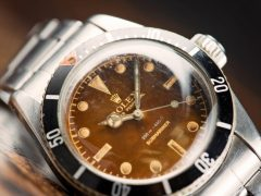 Rolex Submariner 'Big Crown' Tropical Dial Ref. 6538 Watch With A Long History (And A James Bond 007 Connection) Hands-On Submariner