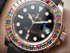 Rolex Yacht-Master 40 116695SATS Watch With Gem Set Bezel Hands-On Hands-On