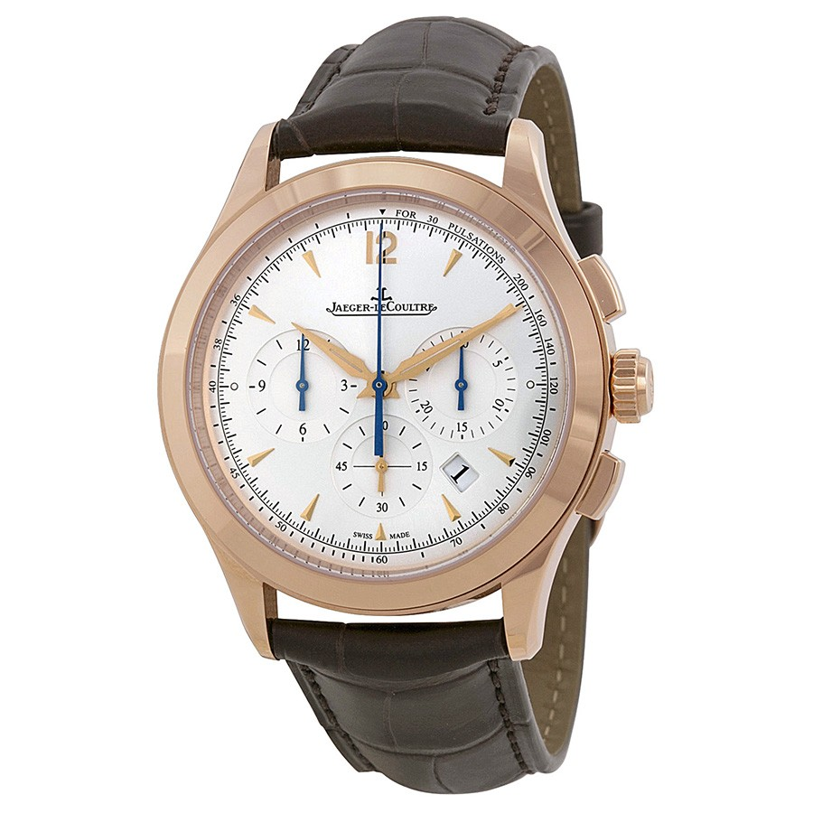 Jaeger LeCoultre Master Chronographe Silver Dial Automatic Men's Watch Q1532520