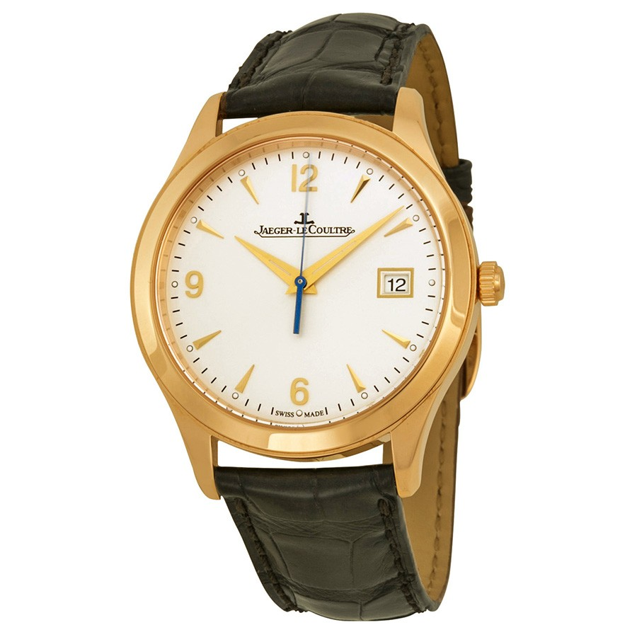 Jaeger LeCoultre Master Control Automatic Ivory Dial Leather Men's Watch Q1542520