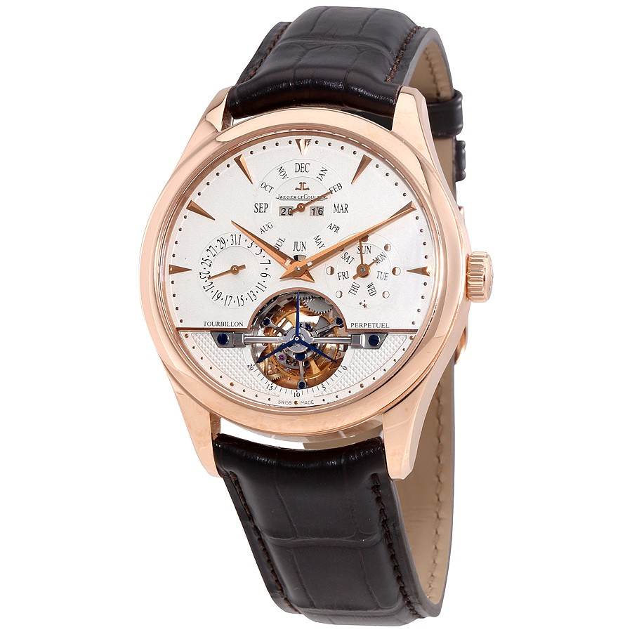 Jaeger LeCoultre Master Grande Tradition Tourbillon Quantieme Perpetual Men's Watch Q500242A
